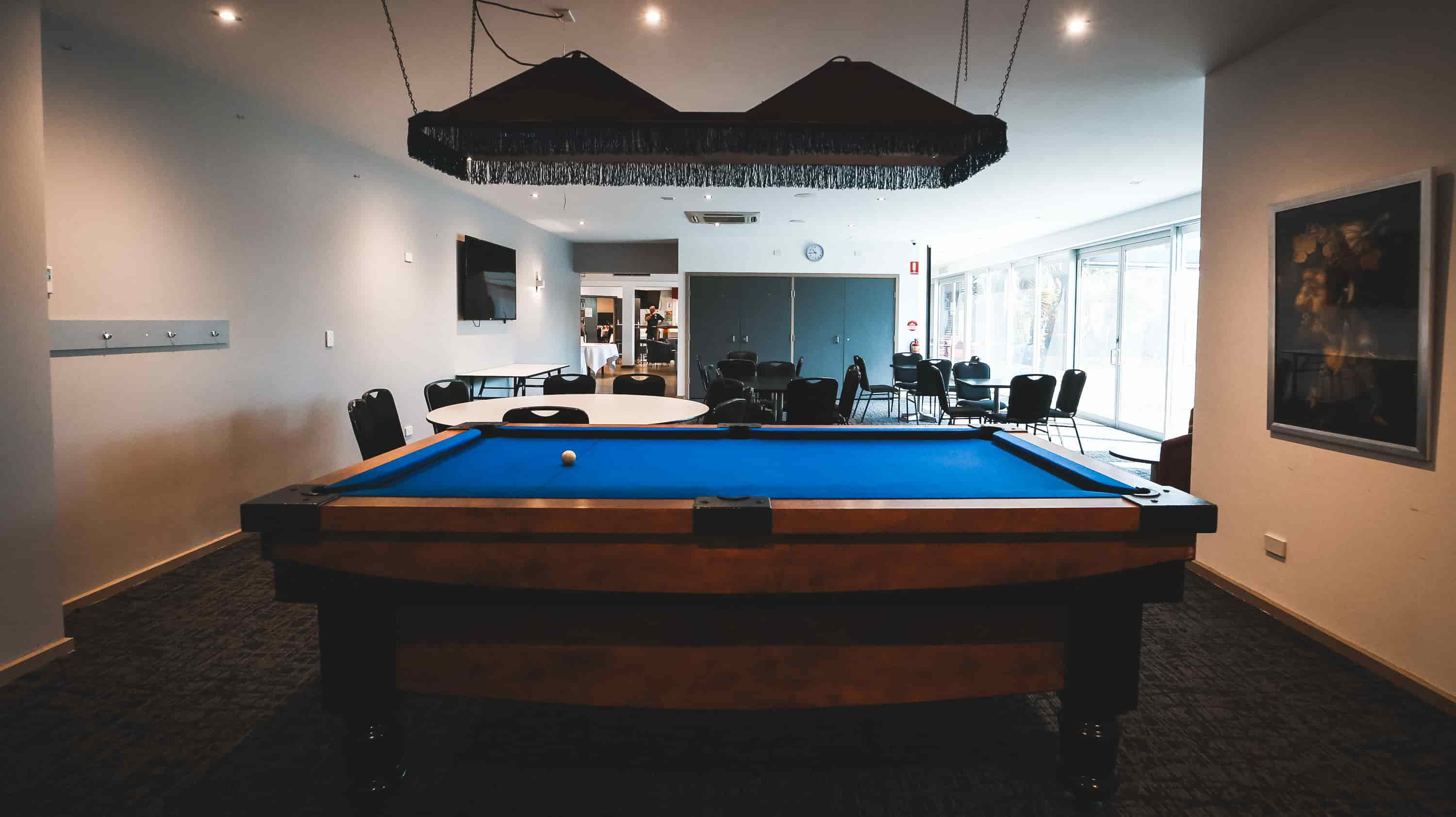 play pool at ISCW Werribee