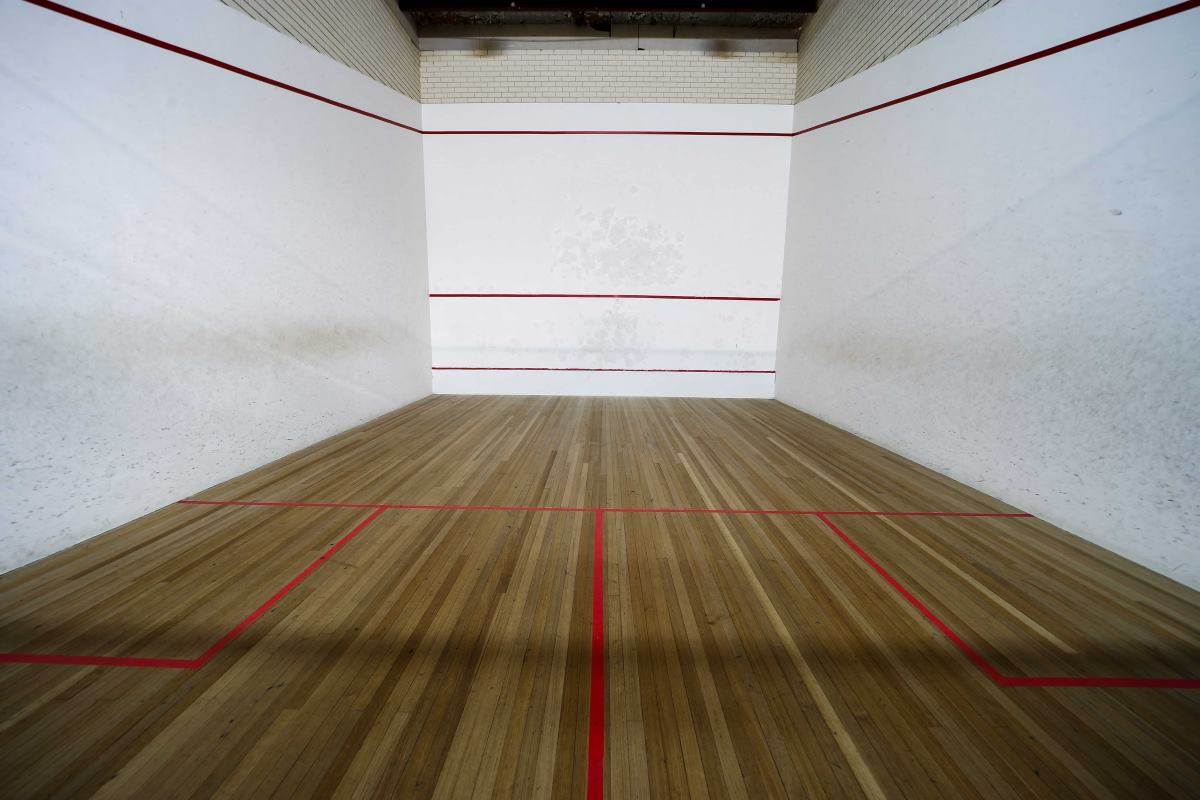 squash court at ISCW Werribee